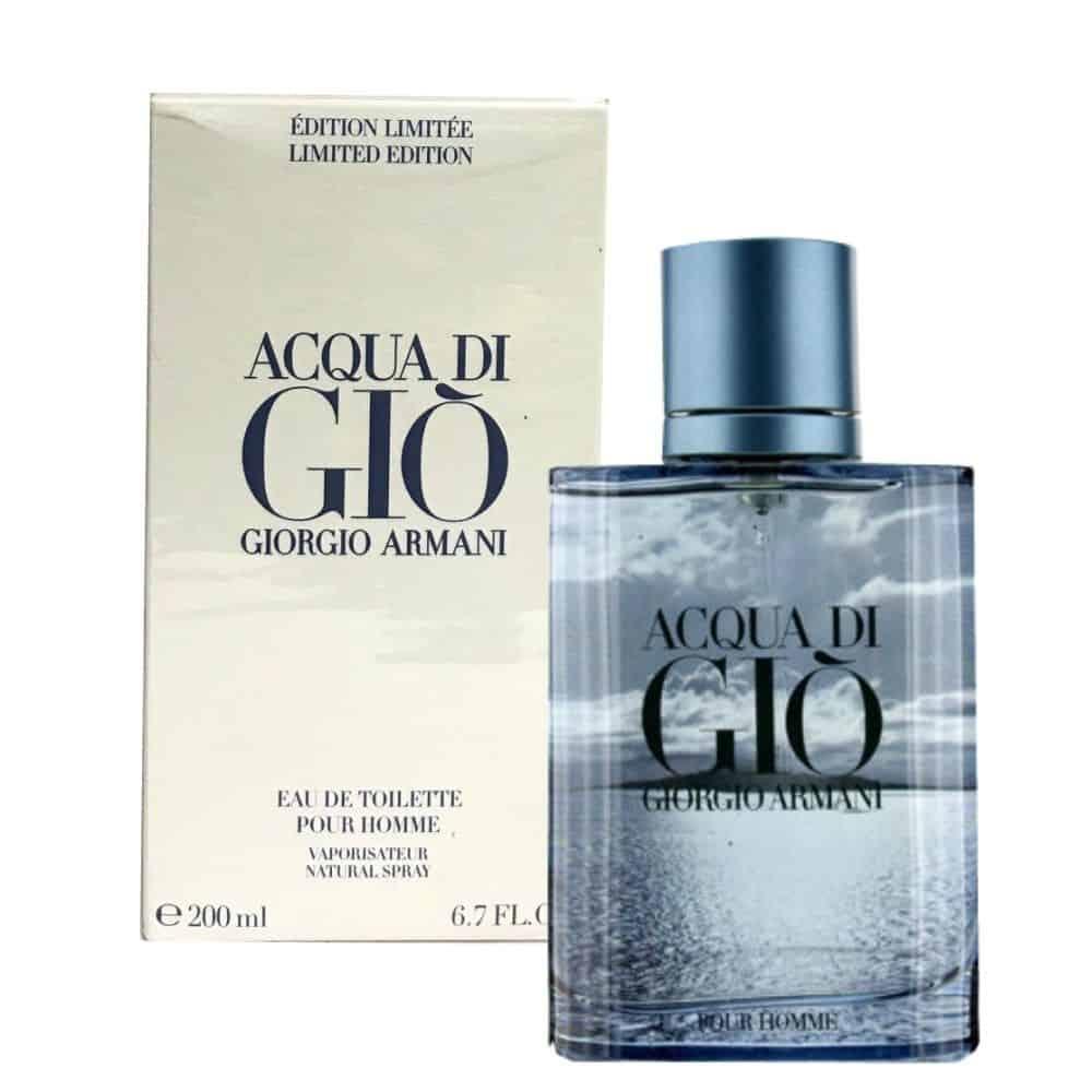 c1a39652d84c1c Giorgio Armani - Acqua Di Gio Edt 6.7 Oz Spray (Blue Limited Edition)    World Wide Wholeseller