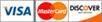 Visa/MasterCard, Amex, Discover
