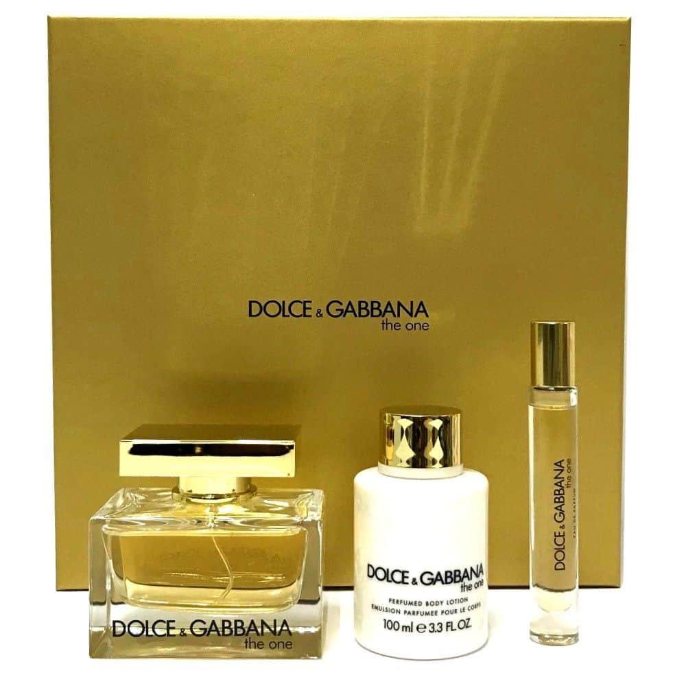 f642b56db04 Dolce   Gabbana The One 3 Pc Gift Set Eau De Parfum For Women   BRAND NEW  BOX