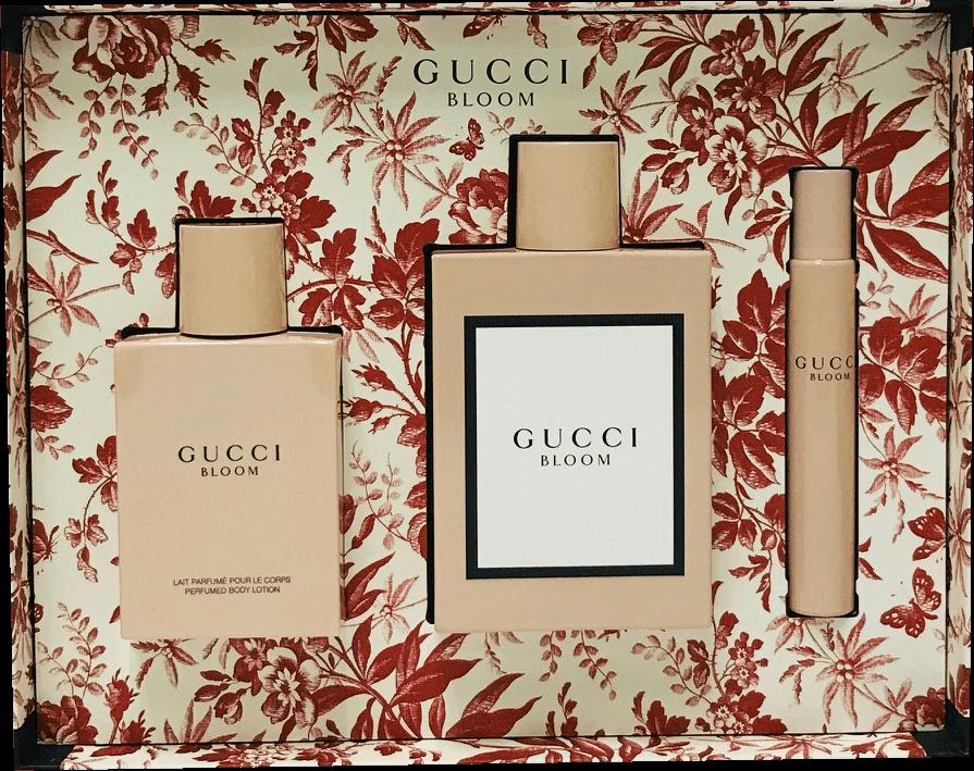3cb7e7fd6be Gucci Bloom By Gucci Eau De Parfum 3.3 Oz 3 Pc Gift Set – World Wide  Wholeseller
