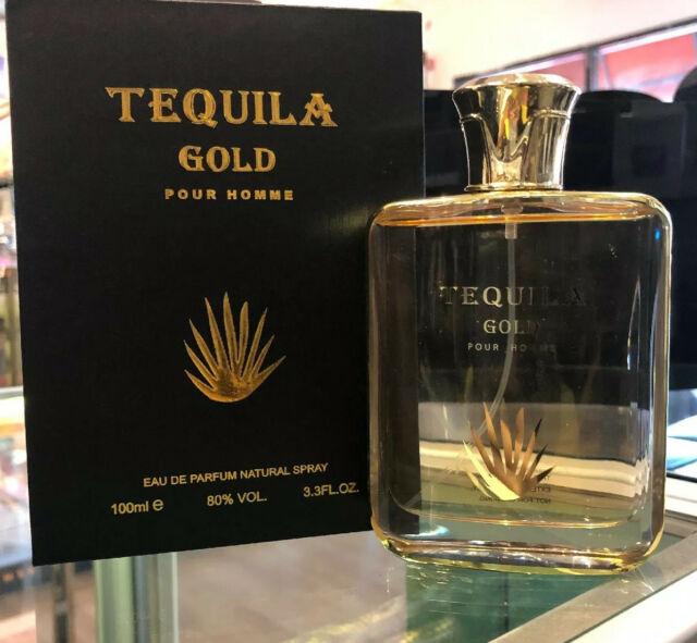 TEQUILA GOLD POUR HOMME Eau De Parfum 3.3 Fl.oz 100ml Spray